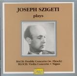 Double concerto - Concerto pour violon