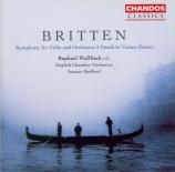 BRITTEN - Bedford - Cello symphony, pour violoncelle et orchestre op.68