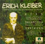 DALLAPICCOLA - Kleiber - Due pezzi per orchestra