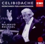 MILHAUD - Celibidache - Suite française, pour orchestre op.248b