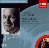 SCHUBERT - Richter - Fantaisie pour piano op.15 en do majeur D.760 'Wand