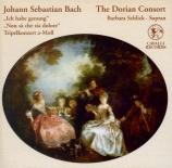 BACH - Schlick - Ich habe genug, cantate pour basse et orchestre BWV.82