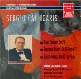 CALLIGARIS - Calligaris - Concerto pour piano op.29