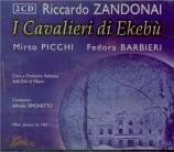 ZANDONAI - Simonetto - I cavalieri di Ekebu (live RAI milano 16 - 1 - 1957) live RAI milano 16 - 1 - 1957