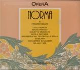BELLINI - Gavazzeni - Norma (live Scala di Milano, 1965) live Scala di Milano, 1965