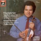 KHATCHATURIAN - Perlman - Concerto pour violon et orchestre en ré mineur