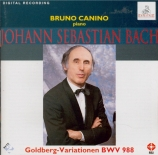 BACH - Canino - Variations Goldberg, pour clavier BWV.988