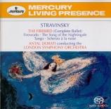 STRAVINSKY - Dorati - Feu d'artifice, fantaisie pour grand orchestre en