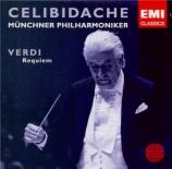VERDI - Celibidache - Messa da requiem, pour quatre voix solo, chœur, et