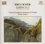 BRUCKNER - Tintner - Symphonie n°2 en ut mineur WAB 102