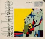 40 Jahre Donaueschinger Musiktage 1950-1990