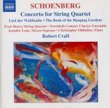 SCHOENBERG - Craft - Concerto pour quatuor à cordes et orchestre