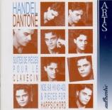 HAENDEL - Dantone - Suite pour clavier n°6 en fa dièse mineur vol.1 n°6
