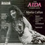 VERDI - Barbirolli - Aida, opéra en quatre actes