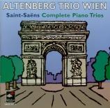 SAINT-SAËNS - Altenberg Trio - Trio avec piano n°1 op.18