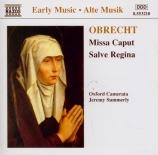 OBRECHT - Summerly - Missa 'Caput'