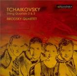 TCHAIKOVSKY - Brodsky Quartet - Quatuor à cordes n°2 en fa majeur op.22