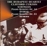 SCHUMANN - Budapest String - Quintette avec piano en mi bémol majeur op