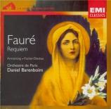 FAURE - Barenboim - Requiem pour voix, orgue et orchestre en ré mineur o