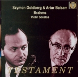BRAHMS - Goldberg - Sonate pour violon et piano n°1 en sol majeur op.78