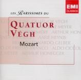 MOZART - Vegh Quartet - Quatuor à cordes n°15 en ré mineur K.421 (K6.417