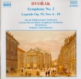 DVORAK - Gunzenhauser - Symphonie n°2 en si bémol majeur op.4 B.12