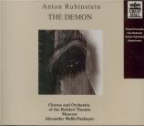 RUBINSTEIN - Melik-Pashayev - Le démon