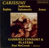 CARISSIMI - McCreesh - Historia di Jephte