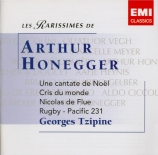 HONEGGER - Tzipine - Une cantate de Noël, oratorio H.212