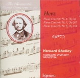 HERZ - Shelley - Concerto pour piano n°1 op.34