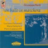 VERDI - Abbado - Un ballo in maschera (Un bal masqué), opéra en trois ac live Scala di Milano, 31 - 1 - 1978