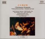BACH - Oberfrank - Oratorio de Noël BWV 248