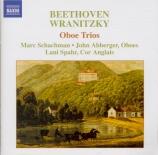 BEETHOVEN - Schachman - Trio pour pour deux hautbois et cor anglais op.8