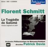 SCHMITT - Davin - La tragédie de Salomé op.50
