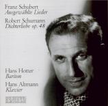 SCHUMANN - Hotter - Dichterliebe (Les amours du poète) (Heine), cycle de