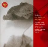BRAHMS - Levine - Ein deutsches Requiem (Un Requiem allemand), pour soli