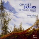 BRAHMS - Kanka - Sonate pour violoncelle et piano n°1 en mi mineur op.38