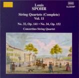 SPOHR - Moscow Philharm - Quatuor à cordes n°32 op.141