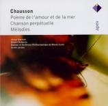 CHAUSSON - Norman - Chanson perpétuelle, pour voix et piano op.37