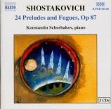 CHOSTAKOVITCH - Scherbakov - Vingt-quatre préludes et fugues pour piano