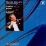 SIBELIUS - Jansons - Symphonie n°1 op.39