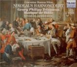 TELEMANN - Harnoncourt - Ouverture pour trompette et hautbois, cordes et