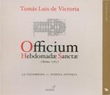 VICTORIA - La Colombina - Officium hebdomadae sanctae