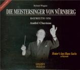 WAGNER - Cluytens - Die Meistersinger von Nürnberg (Les maîtres chanteur Live Bayreuth 1956