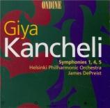 KANCHELI - DePreist - Symphonie n°4 'In commemoration of Michaelangelo'