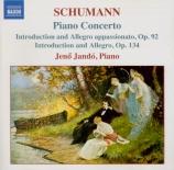 SCHUMANN - Jando - Concerto pour piano et orchestre en la mineur op.54