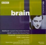 BEETHOVEN - Brain - Quintette pour piano et vents op.16