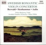 Concertos romantiques suédois pour violon