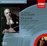 FRANCK - Beecham - Symphonie pour orchestre enrémineur FWV.48