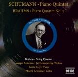 SCHUMANN - Curzon - Quintette avec piano en mi bémol majeur op.44